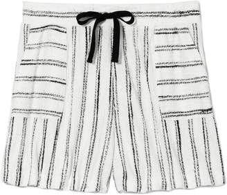 Vince Camuto Striped Drawstring Shorts