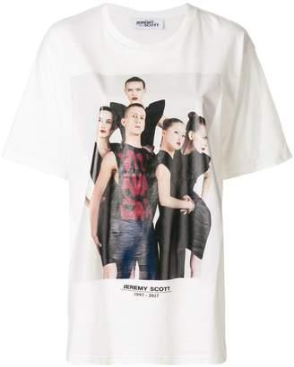 Jeremy Scott front printed T-shirt