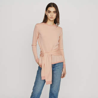 Maje Thin sweater with tie