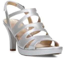 Naturalizer Pressley Leather Cage Slingback Sandals