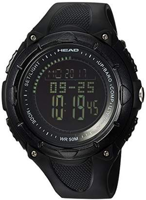 Head Men's 'Avalanche' Quartz Resin and Silicone Casual Watch