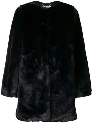 MICHAEL Michael Kors collarless coat