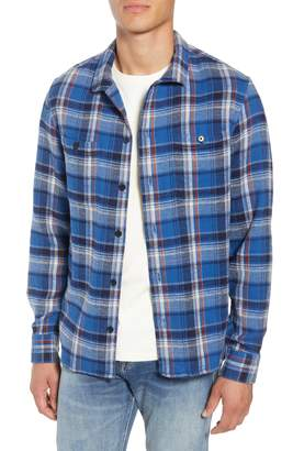 Frame Classic Fit Flannel Shirt Jacket