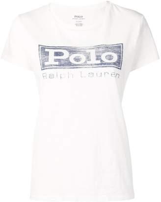 Polo Ralph Lauren vintage logo print T-shirt