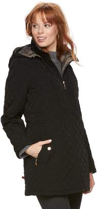 Gallery Women's Long Quilted Jacket