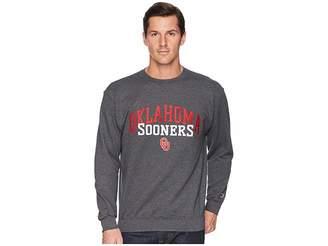 Champion College Oklahoma Sooners Eco Powerblend Crew Men's Short Sleeve Pullover