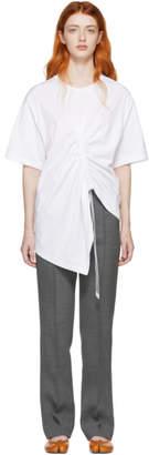 Maison Margiela White Asymmetric T-Shirt