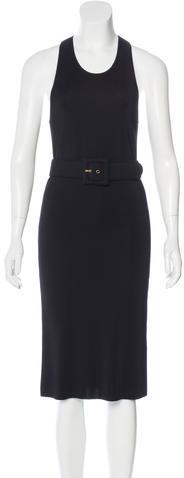 GucciGucci Belted Midi Dress w/ Tags