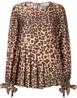 P.A.R.O.S.H. leopard print blouse