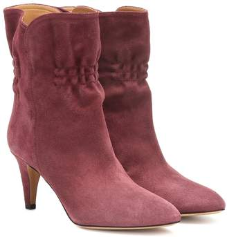 Isabel Marant Dedie suede ankle boots