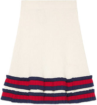 Knit wool skirt $1,200 thestylecure.com