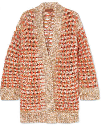 Missoni Crochet-knit Cardigan - Orange