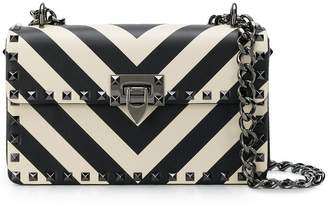 Valentino chevron pattern shoulder bag