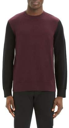 Theory Men's Hills Colorblock Cashmere Sweater