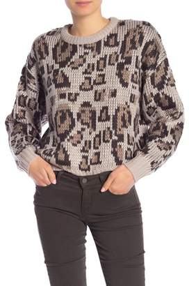 John & Jenn Long Sleeve Patterned Sweater