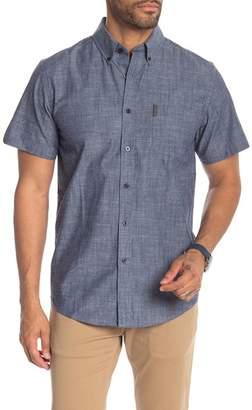 Ben Sherman Slub Chambray Short Sleeve Shirt