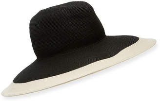 Kokin New Look Gangster Two-Tone Fedora Hat