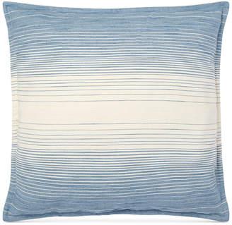 """Lauren Ralph Lauren Graydon Cotton Ombre 20"""" Square Decorative Pillow Bedding"""