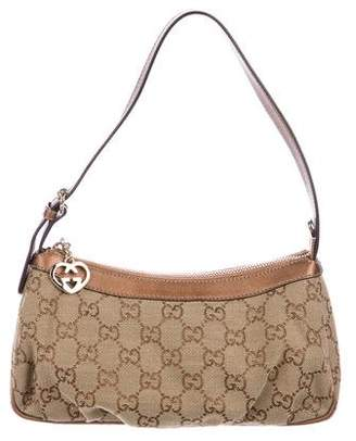 Gucci GG Canvas Heartbit Pochette