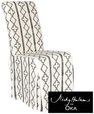 OKA Mullion Echo Chair Cover