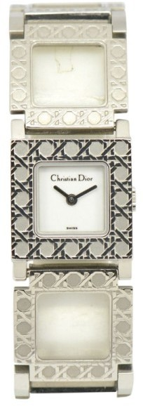 Christian Dior Christian Dior La Parisienne D60-109 Stainless Steel with White Dial 19mm Womens Watch