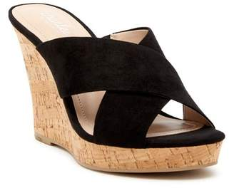 Charles by Charles David Latrice Suede Wedge Sandal