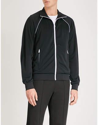 Prada Side-stripe jersey jacket