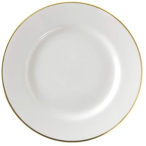 10 Strawberry Street Line Salad and Dessert Plate, Set of 6