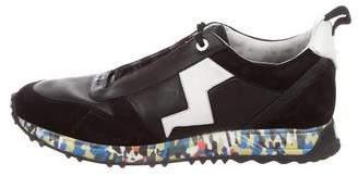 Fendi Lightning Bolt Trainer Sneakers