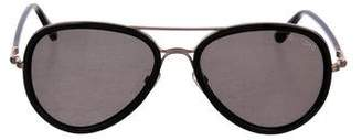 Tom Ford Round Tinted Sunglasses