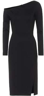 Oscar de la Renta One-shoulder sheath dress