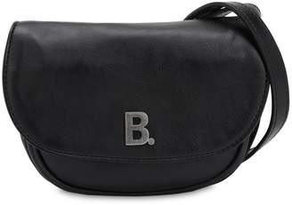 Balenciaga XS ROUND SOFT LEATHER SHOULDER BAG