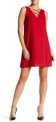 Soprano Lattice Shift Dress $21.97 thestylecure.com