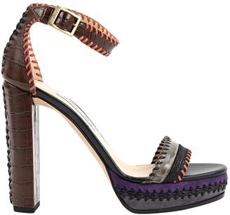 Jimmy Choo Multicolour Leather Heels