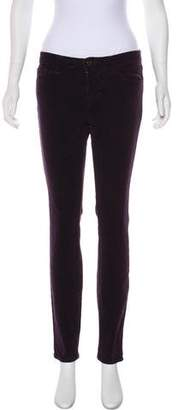 J Brand Corduroy Mid-Rise Jeans