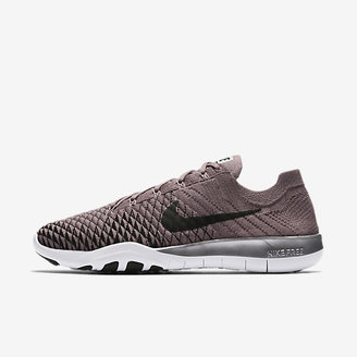 Nike Free TR Flyknit 2 Chrome Blush Women's Training Shoe $120 thestylecure.com