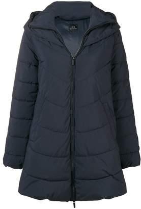 Armani Exchange hooded down jacket