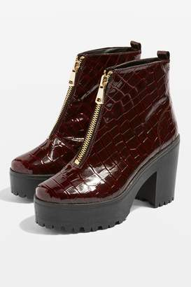 Topshop BRIGHT Heeled Boots