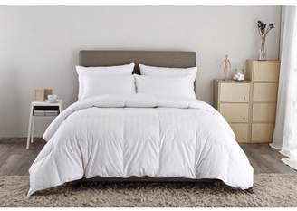 Pure Down Puredown White Down Comforter-Twin/Twin XL-Cotton Shell 500TC-Stripe White