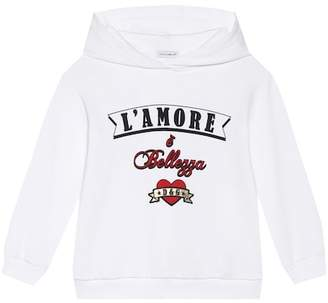 Dolce & Gabbana L'Amore cotton jersey hoodie