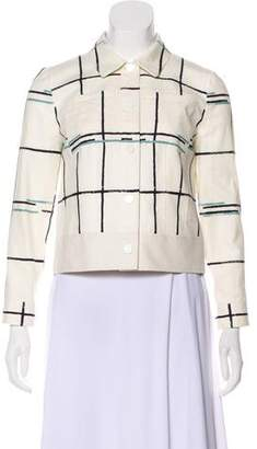 Tory Burch Printed Woven Jacket w/ Tags