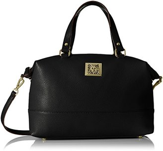 Anne Klein Kick Start Soft Satchel $55.05 thestylecure.com