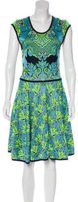 Mary Katrantzou Knit Knee-Length Dress w/ Tags