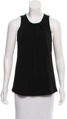 Rachel Zoe Sleeveless Scoop Neck Top