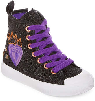 Disney High Top Girls Descendants Sneakers Zip/Lace-Up