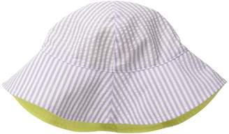 San Diego Hat Company Kids CTK3422 Reversible Seersucker Bucket w/ Chin Strap Bucket Caps