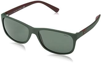 Polo Ralph Lauren Men's 0ph4109 Rectangular Sunglasses