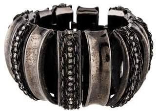 Erickson Beamon Crystal Great Expectations Segment Bracelet