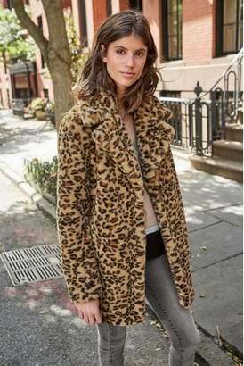 Next Womens Animal Faux Fur Jacket