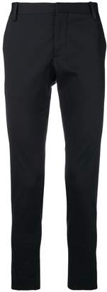 Entre Amis cropped slim-fit chinos